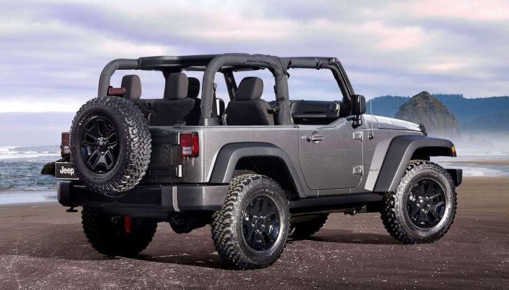 Jeep Wrangler allestimenti, motori e caratteristiche (11)