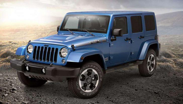 Jeep Wrangler allestimenti, motori e caratteristiche (13)