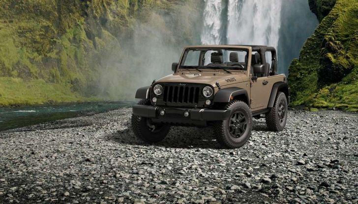 Jeep Wrangler allestimenti, motori e caratteristiche (3)