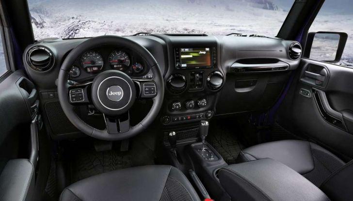 Jeep Wrangler interno