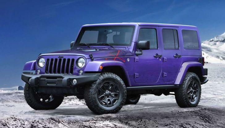 Jeep Wrangler allestimenti, motori e caratteristiche (7)