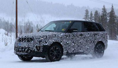 Land Rover Range Rover MY2018 immagini spia del futuro SUV britannico