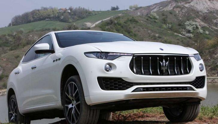 Il SUV compatto Maserati potrebbe debuttare a breve - Foto 5 di 13