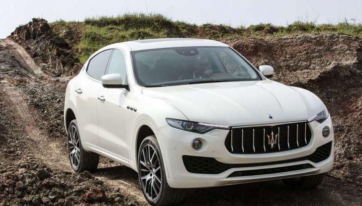 Il SUV compatto Maserati potrebbe debuttare a breve - Foto 9 di 13