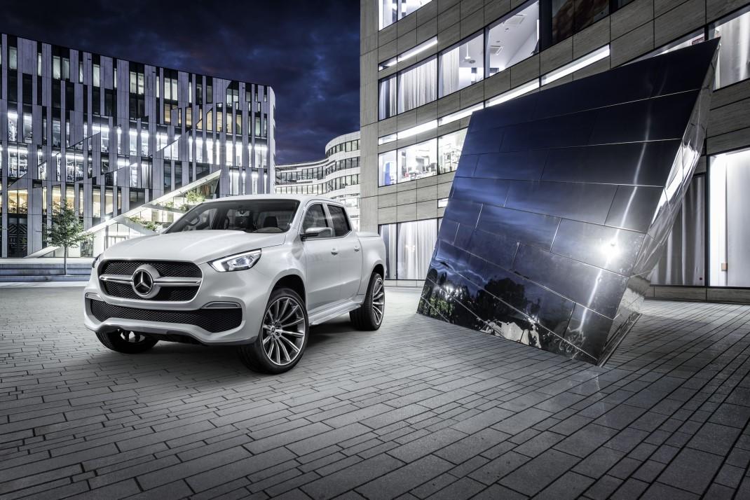 Mercedes - Classe X