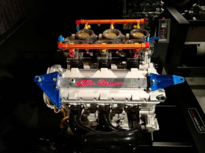 Motore Alfa Romeo.