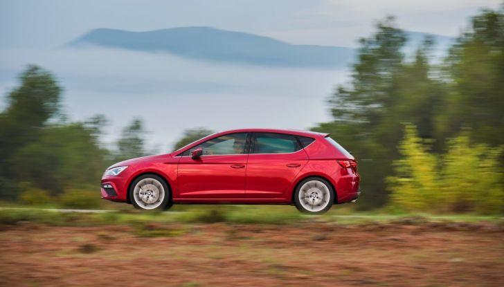 Nuova Seat Leon, test drive fuori città