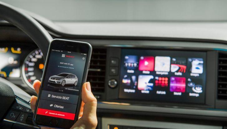 Nuova Seat Leon, connettività e tecnologia.