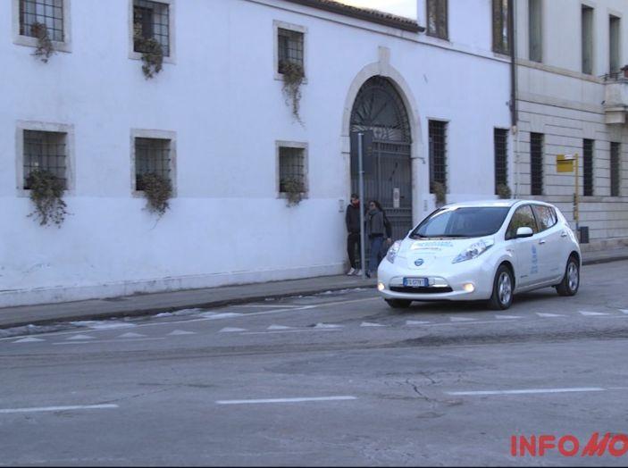 Nissan Leaf, la nostra prova in città.