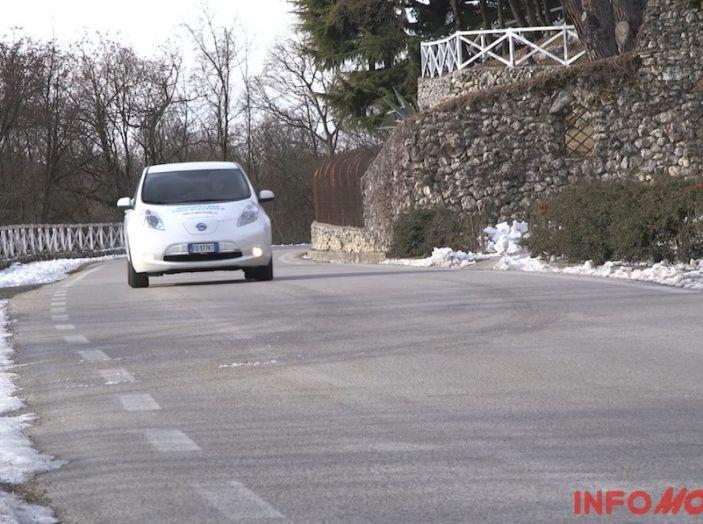 Nissan Leaf, il nostro test drive.