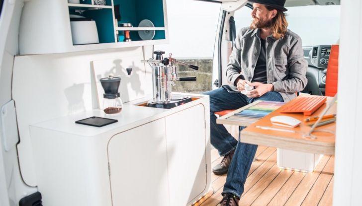 Nissan e-NV 200 WORKSPACe: l'ufficio mobile a zero emissioni - Foto 6 di 10