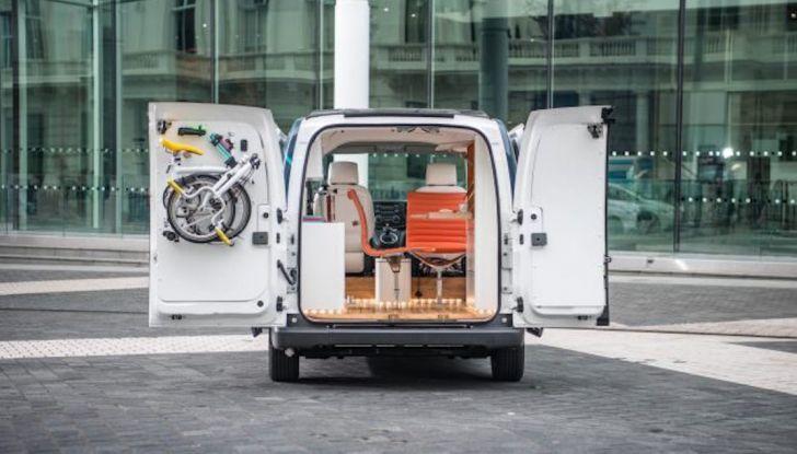 Nissan e-NV 200 WORKSPACe: l'ufficio mobile a zero emissioni - Foto 10 di 10