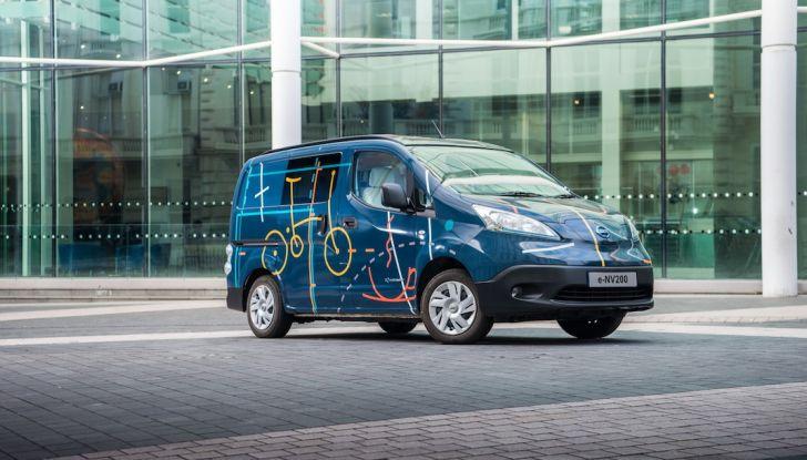 Nissan e-NV 200 WORKSPACe: l'ufficio mobile a zero emissioni - Foto 9 di 10
