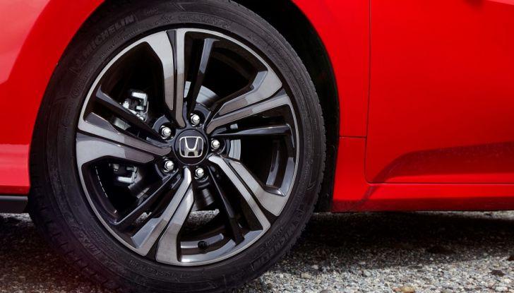 Nuova Honda Civic 2017, cerchio.