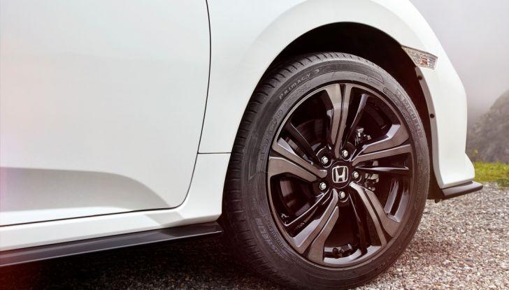Civic Honda 2017, cerchio.
