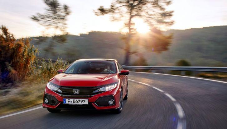Honda Civic nuova test drive