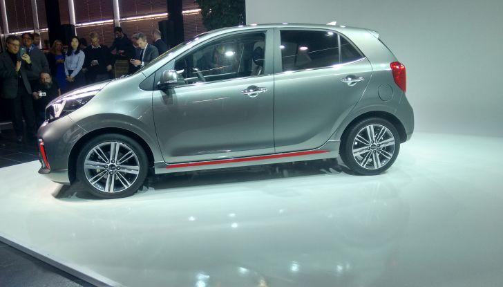 Nuova Kia Picanto, presentazione ufficiale, design.