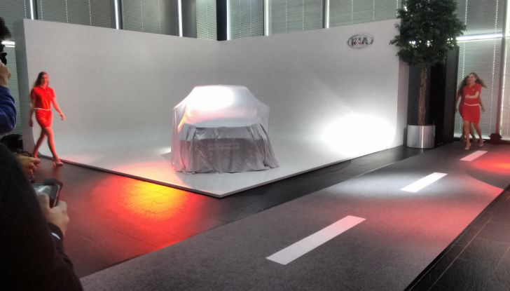 Nuova Kia Picanto in attesa della presentazione ufficiale.