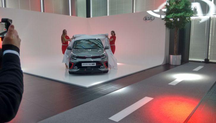 Nuova Kia Picanto, presentazione ufficiale.