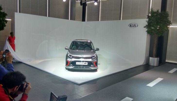 Kia Picanto nuova, presentazione ufficiale.