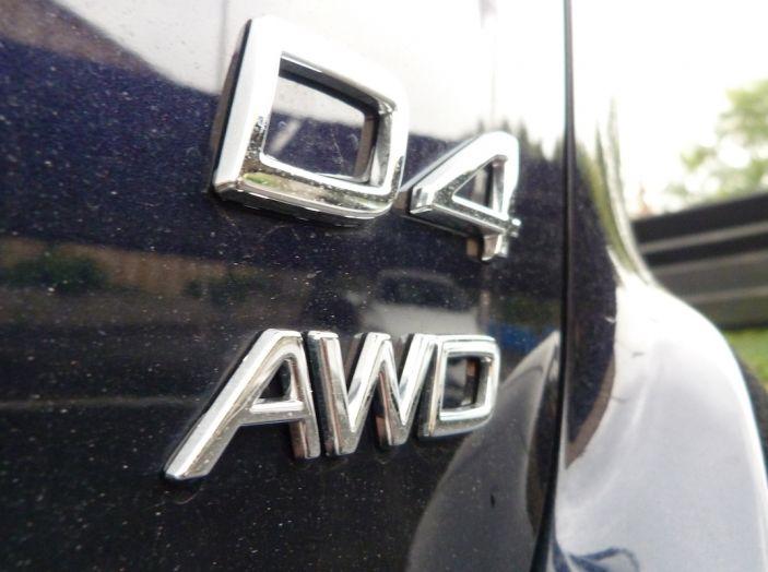 XC60 Volvo prova su strada dettaglio