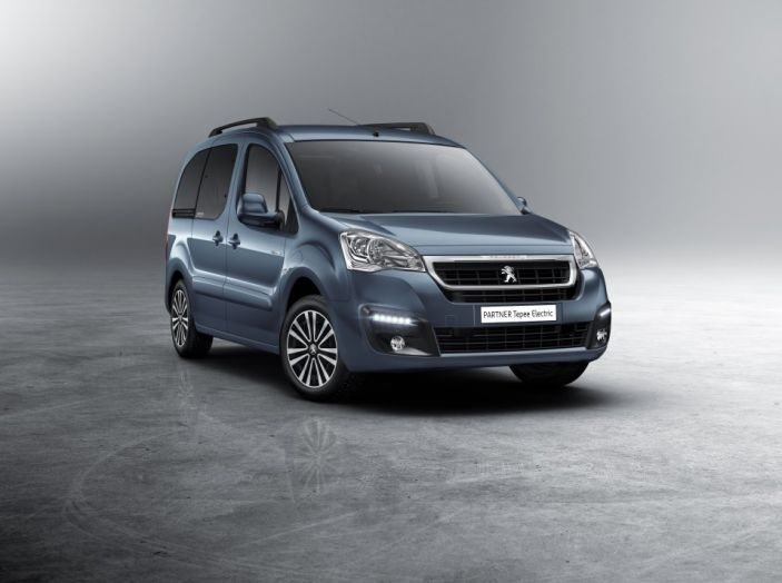 Nuovo Peugeot Partner Tepee Electric: In città senza far rumore