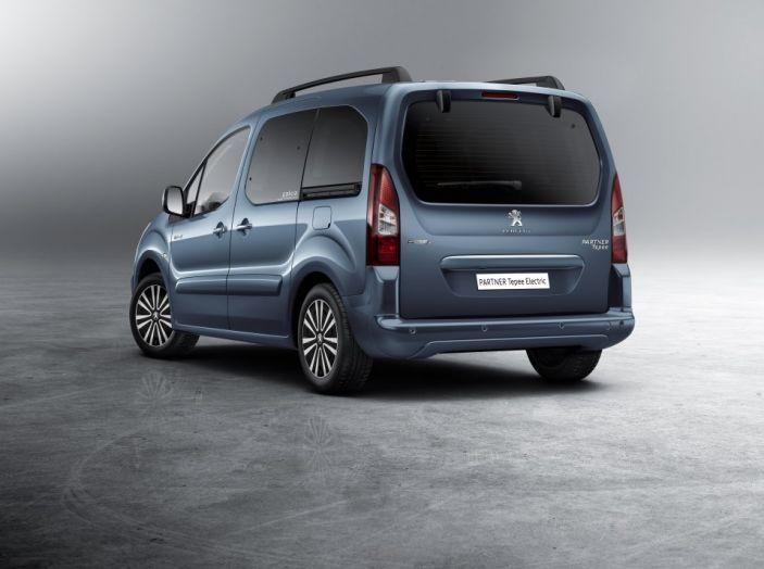 Nuovo Peugeot Partner Tepee Electric: In città senza far rumore - Foto 2 di 17