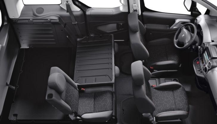 Nuovo Peugeot Partner Tepee Electric: In città senza far rumore - Foto 10 di 17