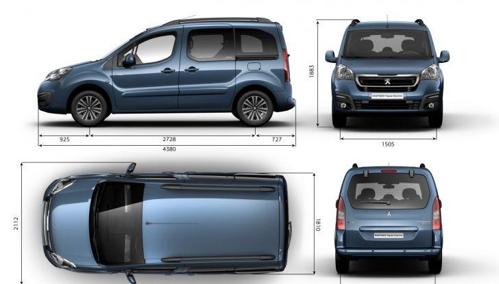Nuovo Peugeot Partner Tepee Electric: In città senza far rumore - Foto 6 di 17