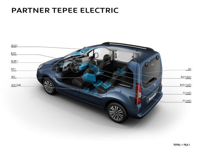 Nuovo Peugeot Partner Tepee Electric: In città senza far rumore - Foto 12 di 17