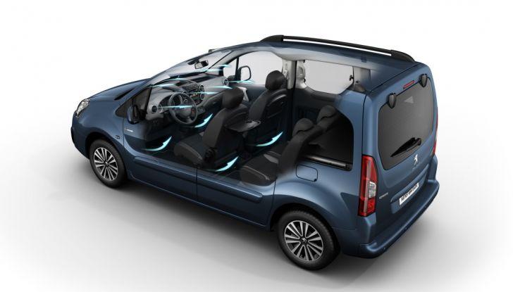 Nuovo Peugeot Partner Tepee Electric: In città senza far rumore - Foto 5 di 17