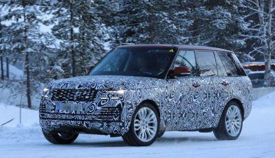 Range Rover Facelift, prime immagini spia del MY2018