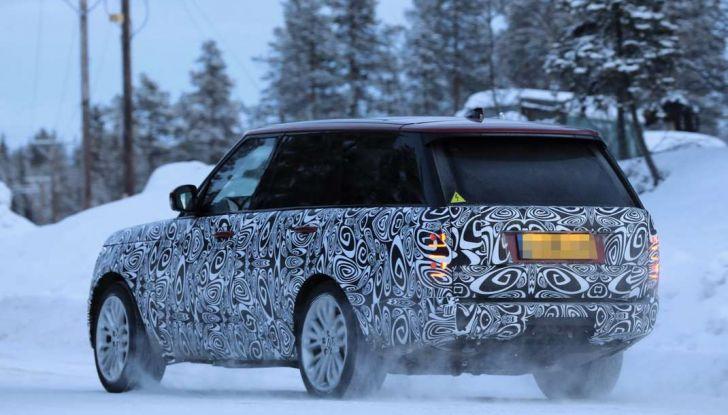 Range Rover Facelift, prime immagini spia del MY2018 - Foto 16 di 18