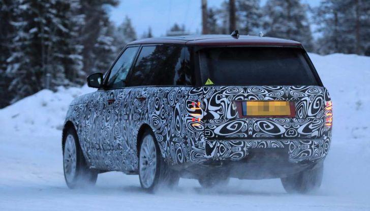 Range Rover Facelift, prime immagini spia del MY2018 - Foto 17 di 18