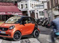 Smart fortwo turbo 90 CV da 150 euro e tassi da record al 5,95%