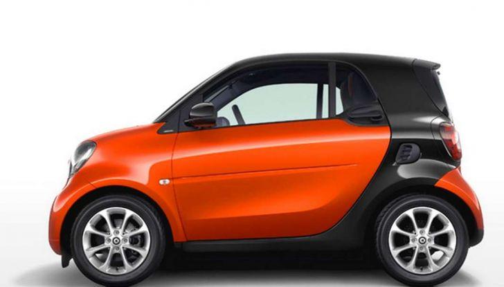 Smart fortwo turbo 90 CV da 150 euro e tassi da record al 5,95% (2)