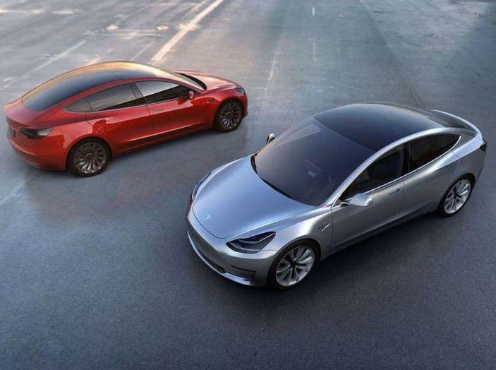 Tesla Model 3 produzione