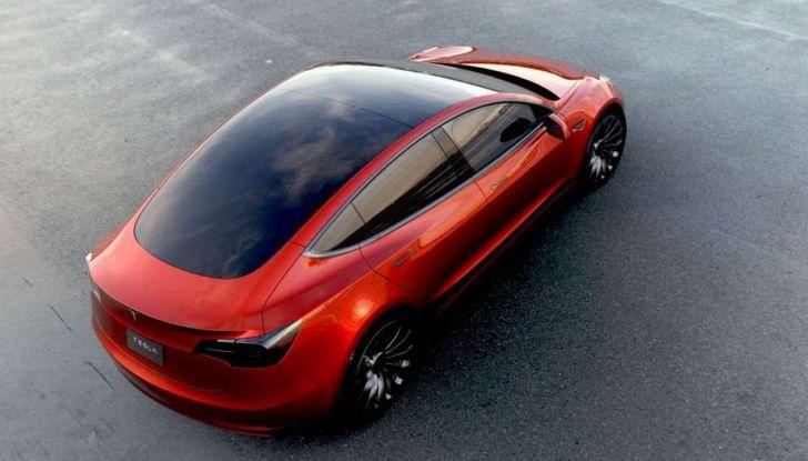 Tesla Model 3 produzione inizia il 20 febbraio