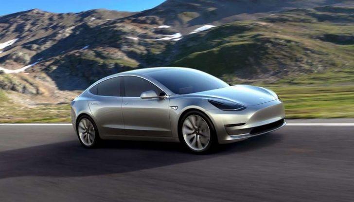 produzione Tesla Model 3