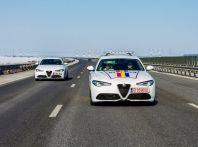 Alfa Romeo Giulia Veloce in dotazione alla Polizia romena