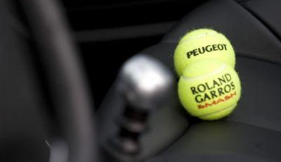 Peugeot partner del Roland Garros di Parigi