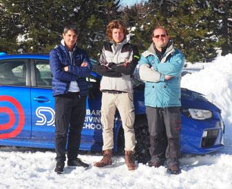 La Guida sulla neve, trucchi e consigli con Subaru