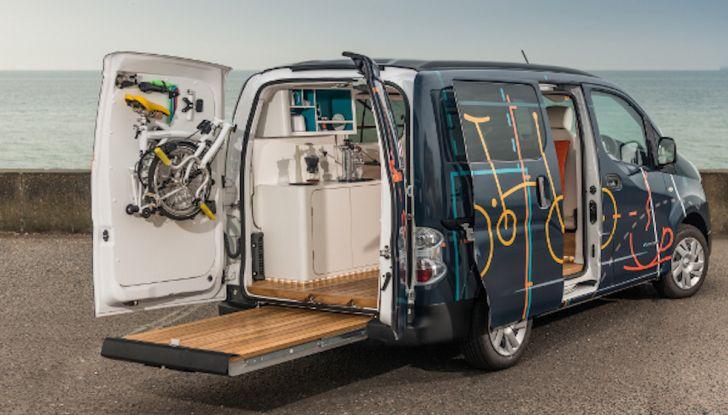 Nissan e-NV 200 WORKSPACe: l'ufficio mobile a zero emissioni - Foto 4 di 10