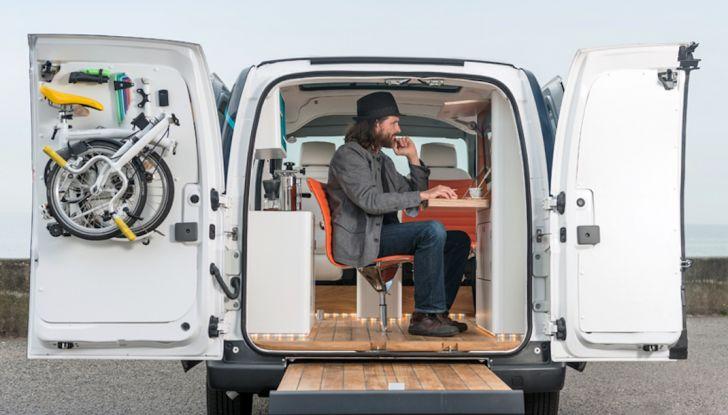 Nissan e-NV 200 WORKSPACe: l'ufficio mobile a zero emissioni - Foto 1 di 10