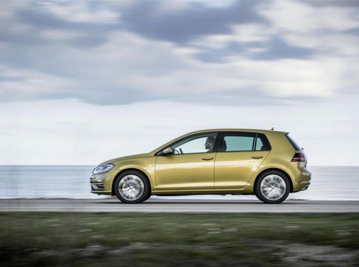 Nuova golf Volkswagen restyling