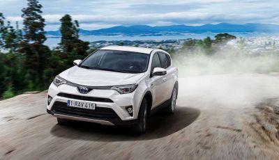 Toyota RAV4 2.5 Hybrid Active 2WD a 300 euro al mese ma con sorpresa
