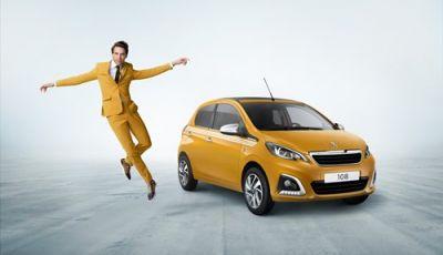 Il cantante Mika ambasciatore della Peugeot 108 Collection
