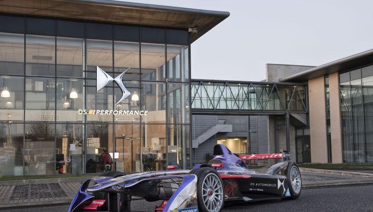 Dalla stagione 2018/2019 DS Automobiles costruttore ufficiale di Formula E. - Foto  di
