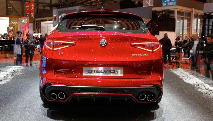 Nuovo Alfa Romeo Stelvio: dati, foto e caratteristiche del SUV di Arese - Foto 10 di 25