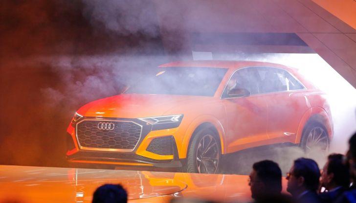 Audi Q8 Concept, il SUV coupé top di gamma - Foto 26 di 28